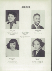Page 11, 1952 Edition, Carver High School - Eagle Yearbook (Salem, VA) online yearbook collection