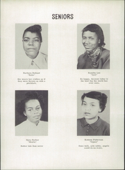 Page 14, 1952 Edition, Carver High School - Eagle Yearbook (Salem, VA) online yearbook collection