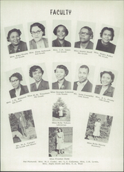 Page 9, 1952 Edition, Carver High School - Eagle Yearbook (Salem, VA) online yearbook collection