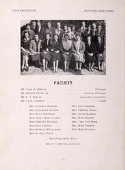 Page 10, 1938 Edition, South Hill High School - Footprints Yearbook (South Hill, VA) online yearbook collection