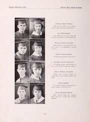 Page 14, 1938 Edition, South Hill High School - Footprints Yearbook (South Hill, VA) online yearbook collection