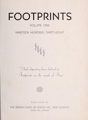 Page 5, 1938 Edition, South Hill High School - Footprints Yearbook (South Hill, VA) online yearbook collection