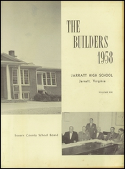 Page 3, 1958 Edition, Jarratt High School - Builders Yearbook (Jarratt, VA) online yearbook collection