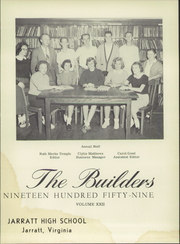 Page 5, 1959 Edition, Jarratt High School - Builders Yearbook (Jarratt, VA) online yearbook collection
