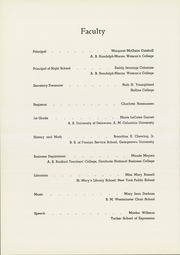Page 10, 1954 Edition, Madam Viaud High School - Spectator Yearbook (Roanoke, VA) online yearbook collection