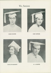Page 13, 1954 Edition, Madam Viaud High School - Spectator Yearbook (Roanoke, VA) online yearbook collection