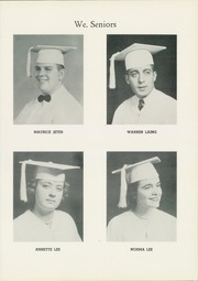 Page 17, 1954 Edition, Madam Viaud High School - Spectator Yearbook (Roanoke, VA) online yearbook collection