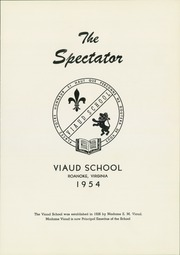 Page 5, 1954 Edition, Madam Viaud High School - Spectator Yearbook (Roanoke, VA) online yearbook collection