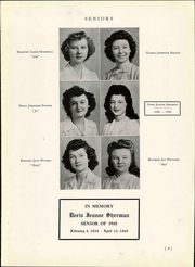 Page 15, 1945 Edition, Portlock High School - Pioneer Yearbook (Norfolk, VA) online yearbook collection