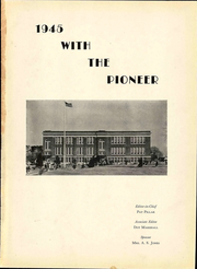 Page 7, 1945 Edition, Portlock High School - Pioneer Yearbook (Norfolk, VA) online yearbook collection