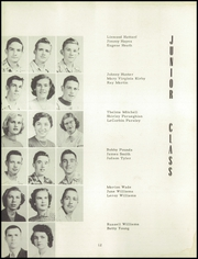 Page 16, 1952 Edition, Battlefield Park High School - Battlefield Yearbook (Ellerson, VA) online yearbook collection