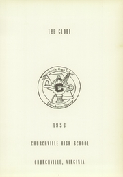 Page 5, 1953 Edition, Churchville High School - Globe Yearbook (Churchville, VA) online yearbook collection