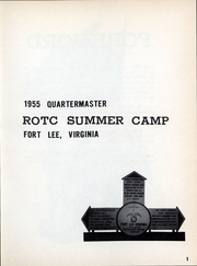 Page 4, 1955 Edition, ROTC Summer Camp - Yearbook (Fort Lee, VA) online yearbook collection