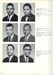 Hampton University - Hamptonian Yearbook (Hampton, VA) online yearbook collection, 1965 Edition, Page 70