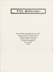 Page 10, 1924 Edition, Stuyvesant High School - Gateway Yearbook (Warrenton, VA) online yearbook collection