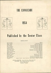 Page 5, 1954 Edition, Lincoln High School - Cavalcade Yearbook (Lincoln, VA) online yearbook collection
