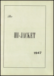 Page 5, 1947 Edition, Osbourne High School - Hi Jacket Yearbook (Manassas, VA) online yearbook collection