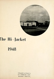 Page 5, 1948 Edition, Osbourne High School - Hi Jacket Yearbook (Manassas, VA) online yearbook collection