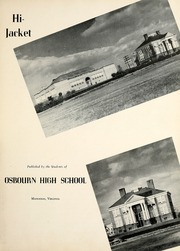 Page 7, 1948 Edition, Osbourne High School - Hi Jacket Yearbook (Manassas, VA) online yearbook collection