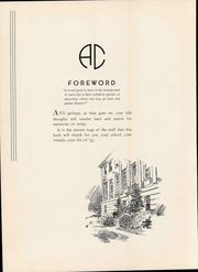 Page 12, 1935 Edition, Averett University - Pendulum Yearbook (Danville, VA) online yearbook collection