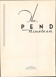 Page 8, 1935 Edition, Averett University - Pendulum Yearbook (Danville, VA) online yearbook collection