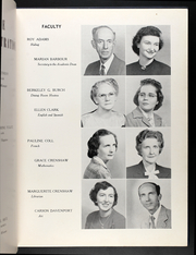 Page 13, 1949 Edition, Averett University - Pendulum Yearbook (Danville, VA) online yearbook collection