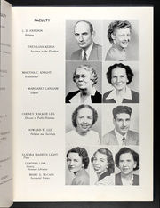 Page 15, 1949 Edition, Averett University - Pendulum Yearbook (Danville, VA) online yearbook collection