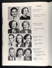 Page 16, 1949 Edition, Averett University - Pendulum Yearbook (Danville, VA) online yearbook collection