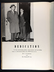 Page 8, 1949 Edition, Averett University - Pendulum Yearbook (Danville, VA) online yearbook collection
