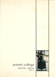 Page 5, 1971 Edition, Averett University - Pendulum Yearbook (Danville, VA) online yearbook collection