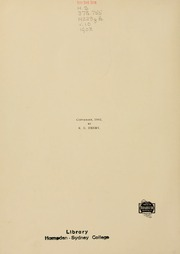 Page 10, 1902 Edition, Hampden Sydney College - Kaleidoscope Yearbook (Hampden Sydney, VA) online yearbook collection