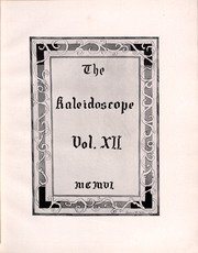 Page 6, 1906 Edition, Hampden Sydney College - Kaleidoscope Yearbook (Hampden Sydney, VA) online yearbook collection