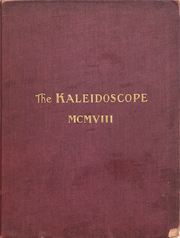 Page 1, 1908 Edition, Hampden Sydney College - Kaleidoscope Yearbook (Hampden Sydney, VA) online yearbook collection