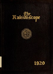Page 1, 1920 Edition, Hampden Sydney College - Kaleidoscope Yearbook (Hampden Sydney, VA) online yearbook collection