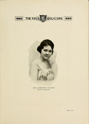 Page 13, 1920 Edition, Hampden Sydney College - Kaleidoscope Yearbook (Hampden Sydney, VA) online yearbook collection