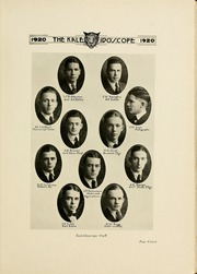 Page 15, 1920 Edition, Hampden Sydney College - Kaleidoscope Yearbook (Hampden Sydney, VA) online yearbook collection