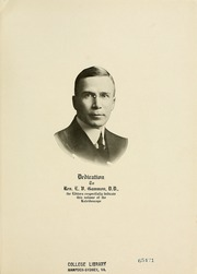 Page 13, 1921 Edition, Hampden Sydney College - Kaleidoscope Yearbook (Hampden Sydney, VA) online yearbook collection