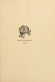 Page 5, 1930 Edition, Hampden Sydney College - Kaleidoscope Yearbook (Hampden Sydney, VA) online yearbook collection