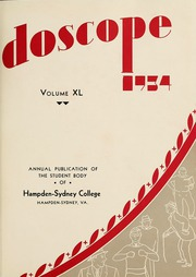 Page 7, 1934 Edition, Hampden Sydney College - Kaleidoscope Yearbook (Hampden Sydney, VA) online yearbook collection