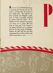 Page 8, 1934 Edition, Hampden Sydney College - Kaleidoscope Yearbook (Hampden Sydney, VA) online yearbook collection