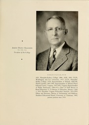 Page 17, 1936 Edition, Hampden Sydney College - Kaleidoscope Yearbook (Hampden Sydney, VA) online yearbook collection