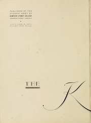 Page 6, 1936 Edition, Hampden Sydney College - Kaleidoscope Yearbook (Hampden Sydney, VA) online yearbook collection