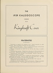 Page 173, 1939 Edition, Hampden Sydney College - Kaleidoscope Yearbook (Hampden Sydney, VA) online yearbook collection