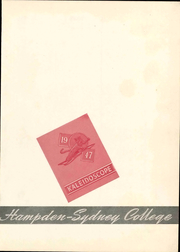 Page 7, 1947 Edition, Hampden Sydney College - Kaleidoscope Yearbook (Hampden Sydney, VA) online yearbook collection