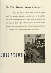 Page 11, 1948 Edition, Hampden Sydney College - Kaleidoscope Yearbook (Hampden Sydney, VA) online yearbook collection