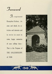 Page 8, 1948 Edition, Hampden Sydney College - Kaleidoscope Yearbook (Hampden Sydney, VA) online yearbook collection