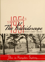 Page 5, 1951 Edition, Hampden Sydney College - Kaleidoscope Yearbook (Hampden Sydney, VA) online yearbook collection