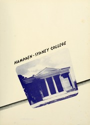 Page 5, 1954 Edition, Hampden Sydney College - Kaleidoscope Yearbook (Hampden Sydney, VA) online yearbook collection