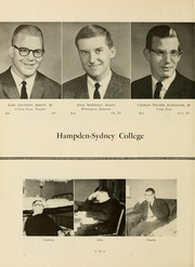 Page 14, 1961 Edition, Hampden Sydney College - Kaleidoscope Yearbook (Hampden Sydney, VA) online yearbook collection