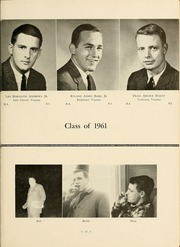 Page 15, 1961 Edition, Hampden Sydney College - Kaleidoscope Yearbook (Hampden Sydney, VA) online yearbook collection